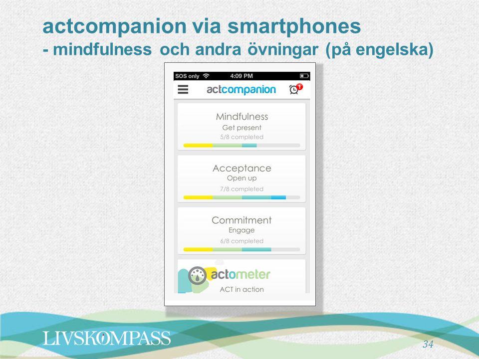actcompanion via smartphones - mindfulness och andra övningar (på engelska) 34