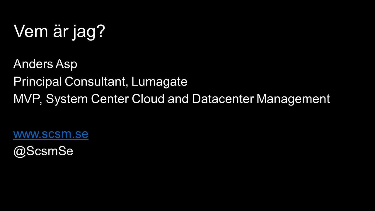 Sammanfattning Simplified IT management for any enterprise Log Analytics IT Automation Backup & Recovery Security & Compliance OMS och System Center ger stort mervärde