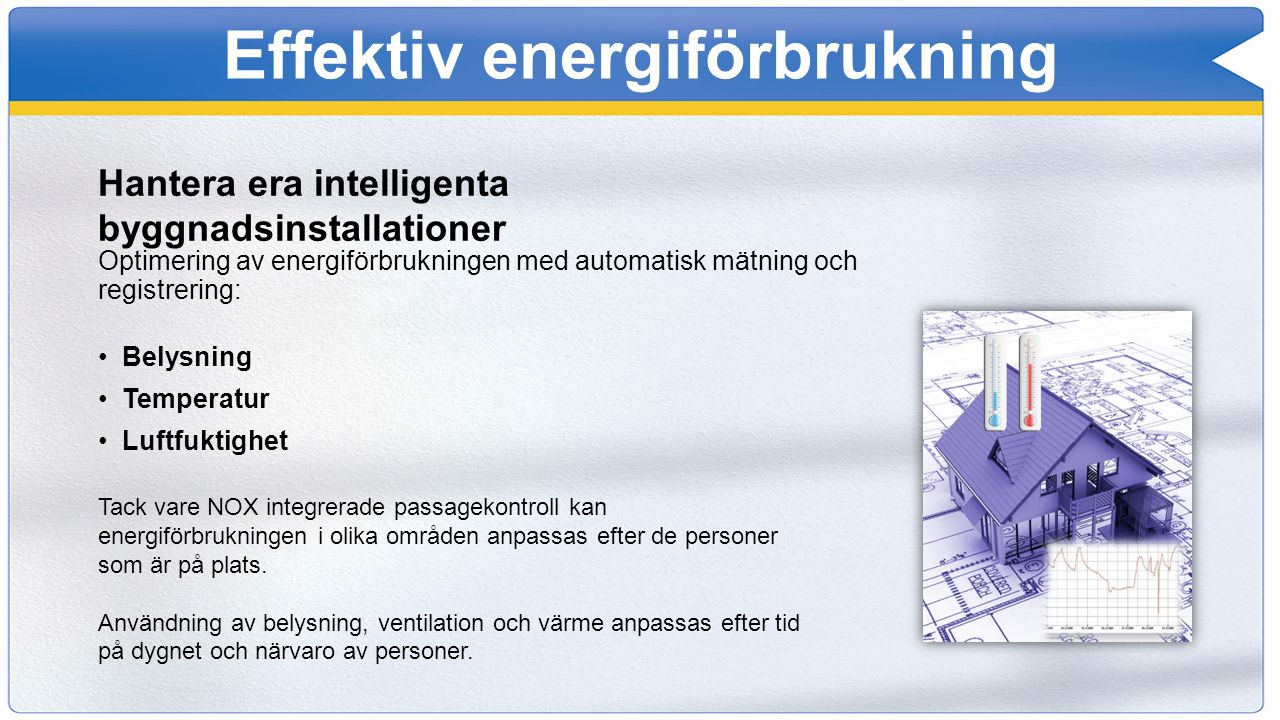 Integrationer NOX har integrerats med...