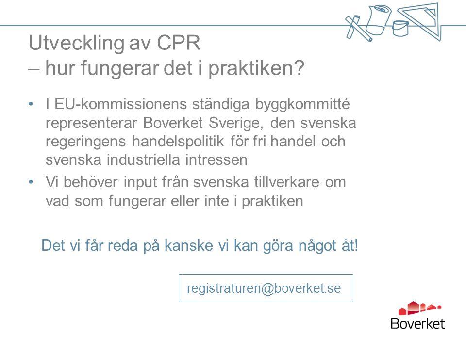 Utveckling av CPR – hur fungerar det i praktiken.