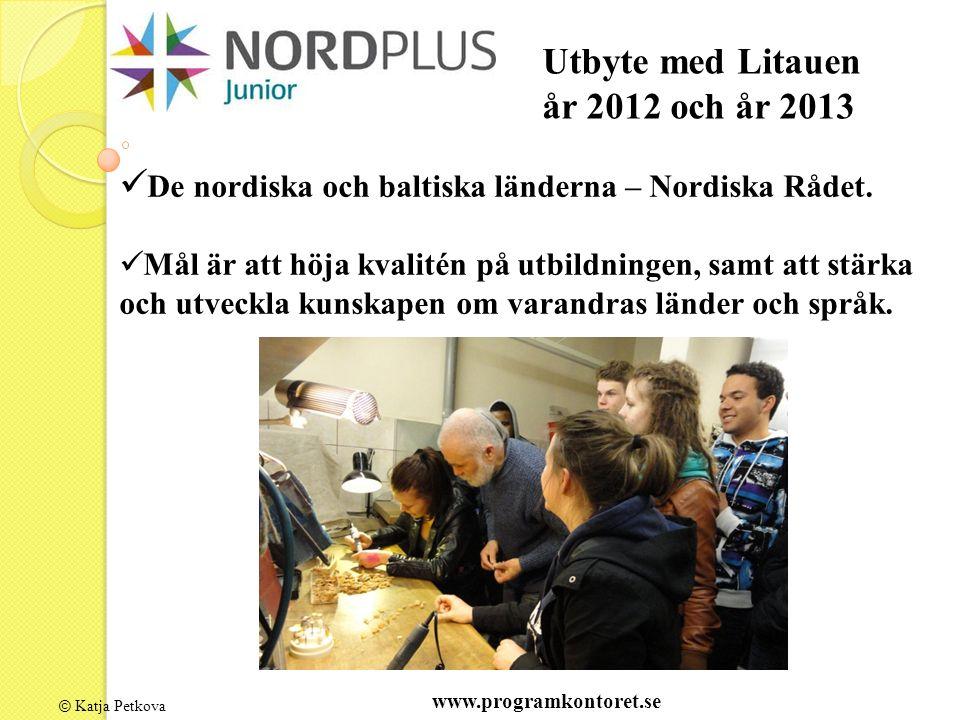 © Katja Petkova De nordiska och baltiska länderna – Nordiska Rådet.