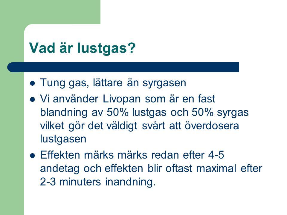Vad är lustgas.
