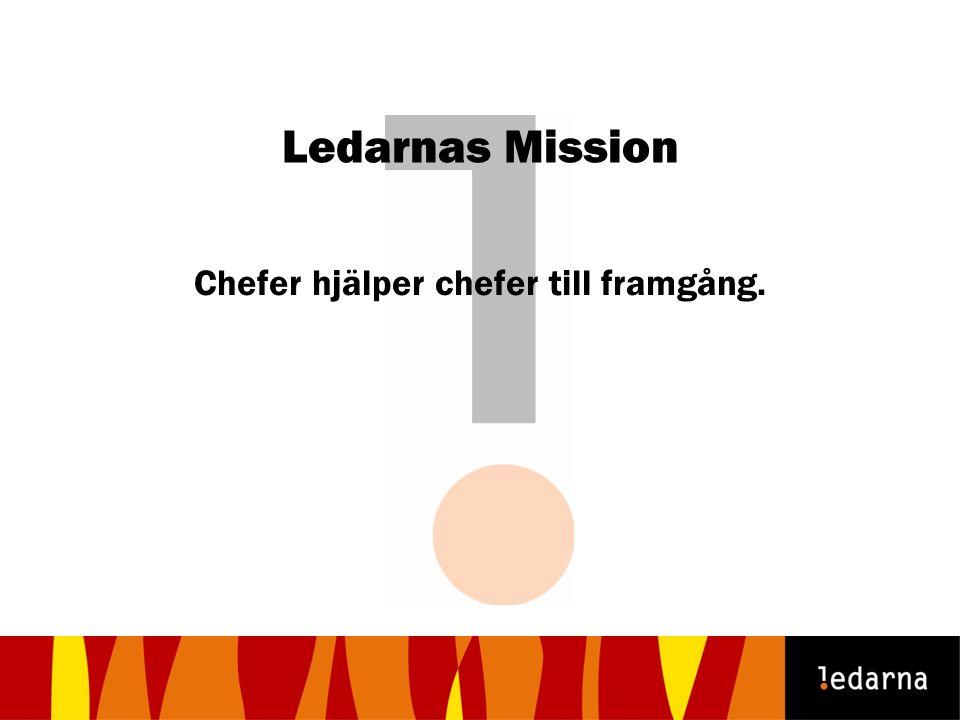 Ledarnas Mission Chefer hjälper chefer till framgång.