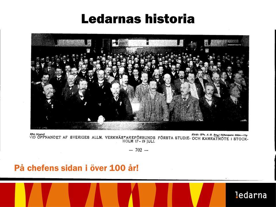 Ledarnas historia På chefens sidan i över 100 år!
