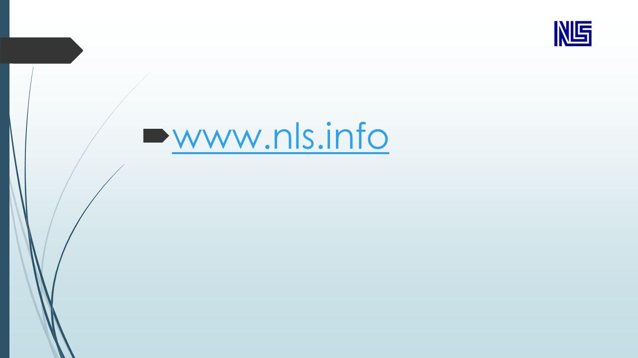  www.nls.info www.nls.info