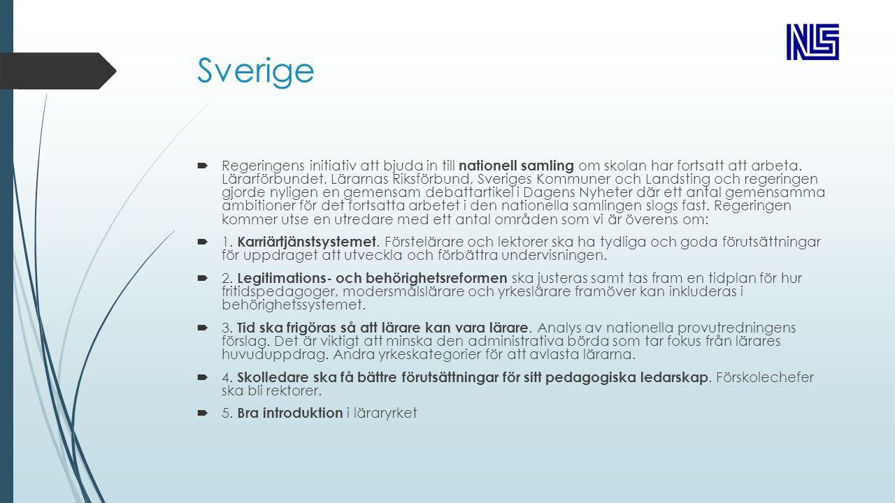 Sverige  Regeringens initiativ att bjuda in till nationell samling om skolan har fortsatt att arbeta.