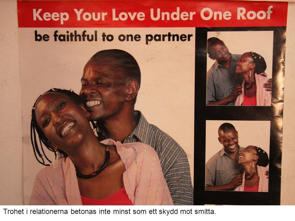 Trohet i relationerna betonas inte minst som ett skydd mot smitta.