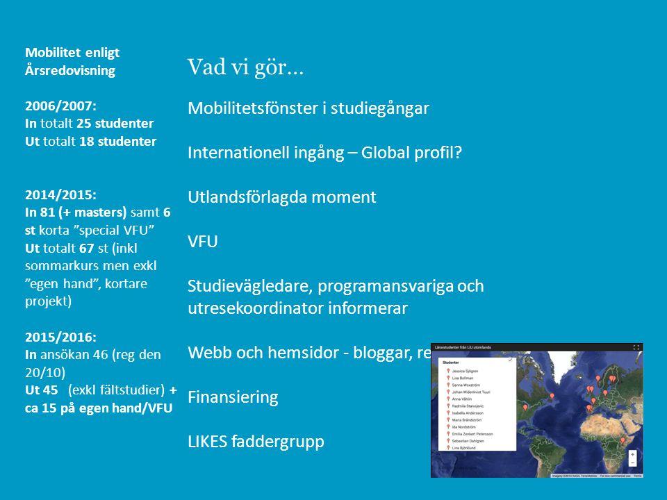 Lärarutbildning - ämneslärare gymnasieskolan, 300/330 hp, internationell ingång OBS - ingen antagning till höstterminen 2014 https://www.liu.se/utbildning/program/amneslarare-gy/internationell-ingang?l=sv Världen blir allt mer globaliserad och den svenska skolan är idag multikulturell.