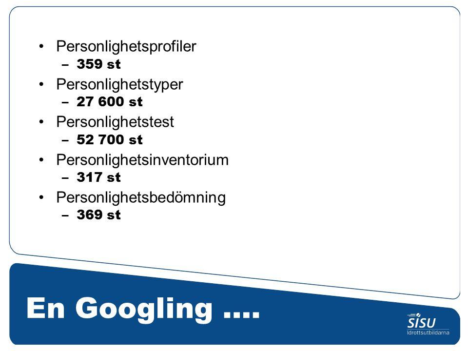 En Googling ….