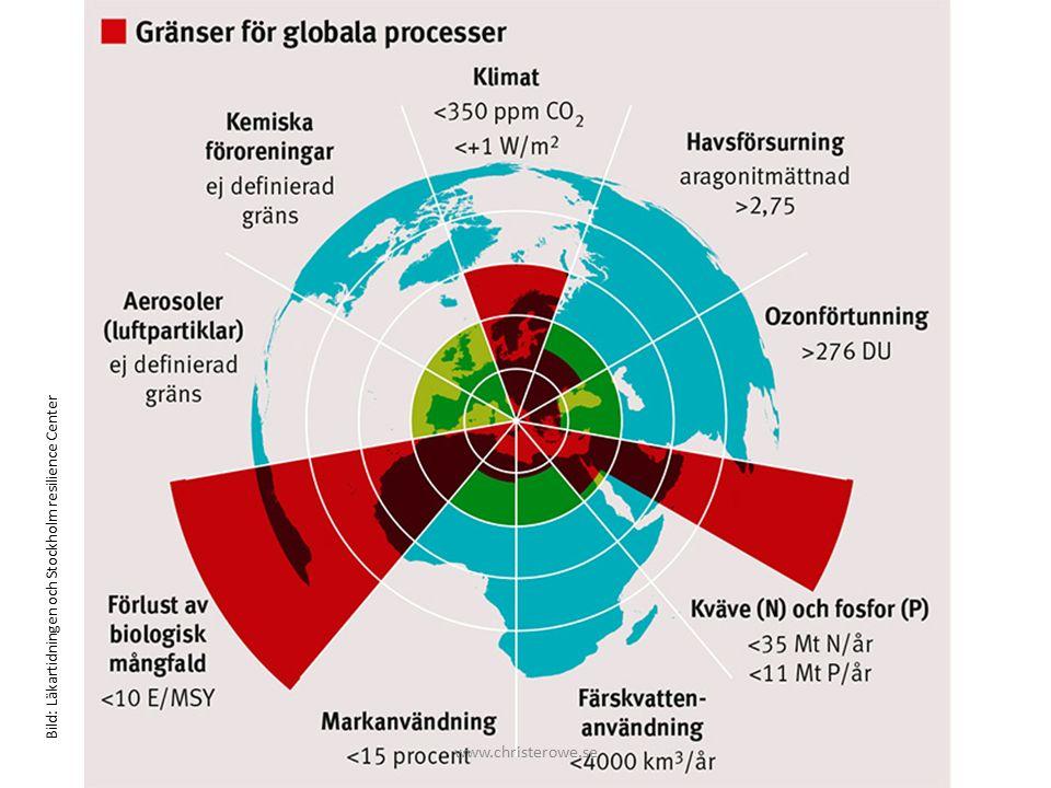 Bild: Läkartidningen och Stockholm resilience Center www.christerowe.se