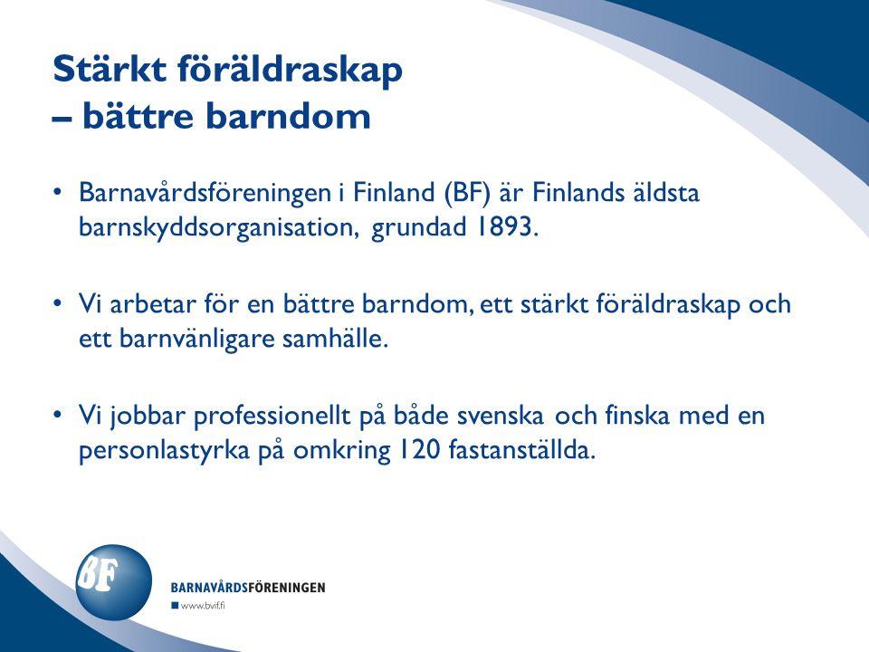 Barnavårdsföreningen i Finland (BF) är Finlands äldsta barnskyddsorganisation, grundad 1893.
