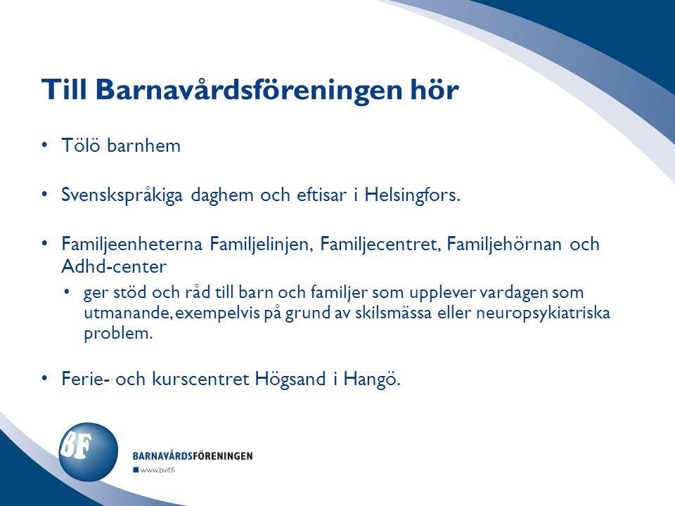Tölö barnhem Svenskspråkiga daghem och eftisar i Helsingfors.