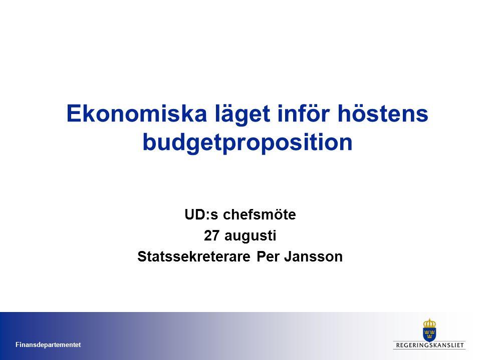 Finansdepartementet Sverige har relativt flexibel arbetsrätt 2008.