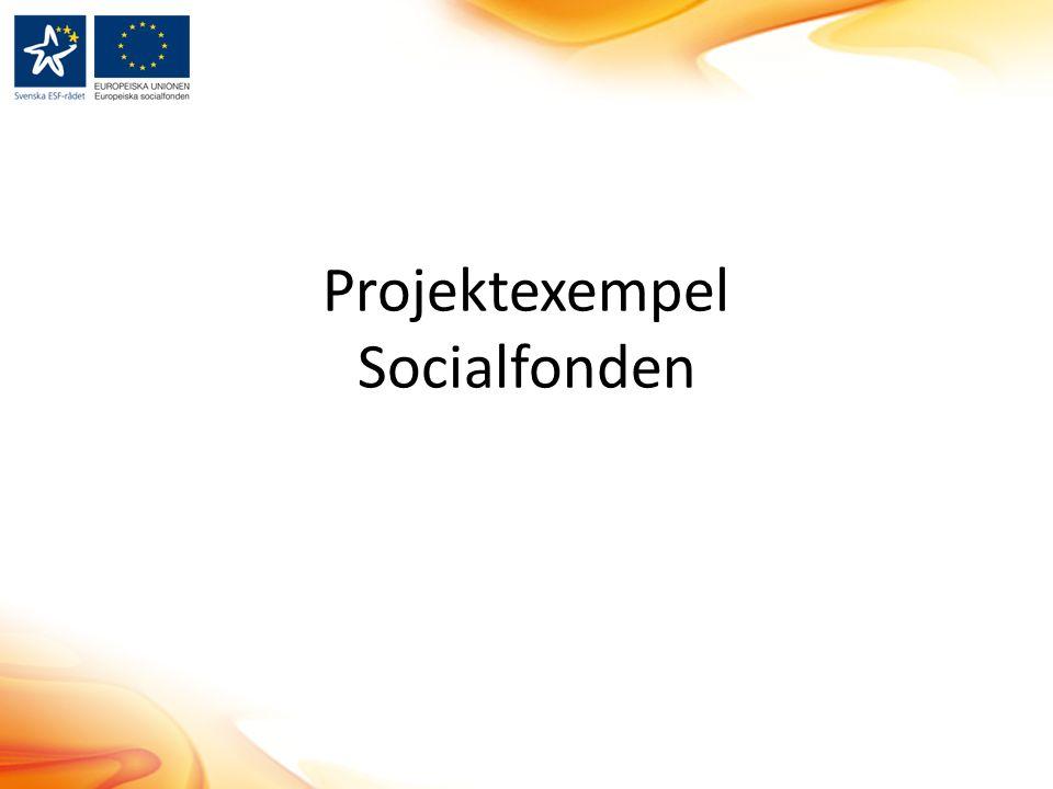 Projektexempel Socialfonden