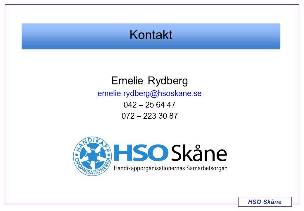 HSO Skåne Emelie Rydberg emelie.rydberg@hsoskane.se 042 – 25 64 47 072 – 223 30 87 Kontakt