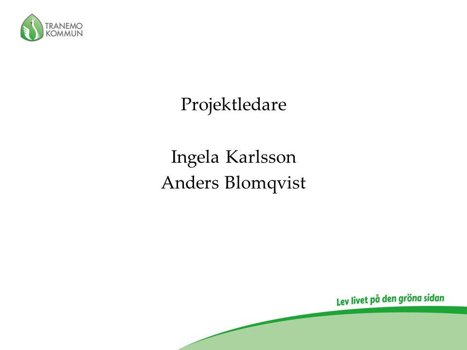 Projektledare Ingela Karlsson Anders Blomqvist