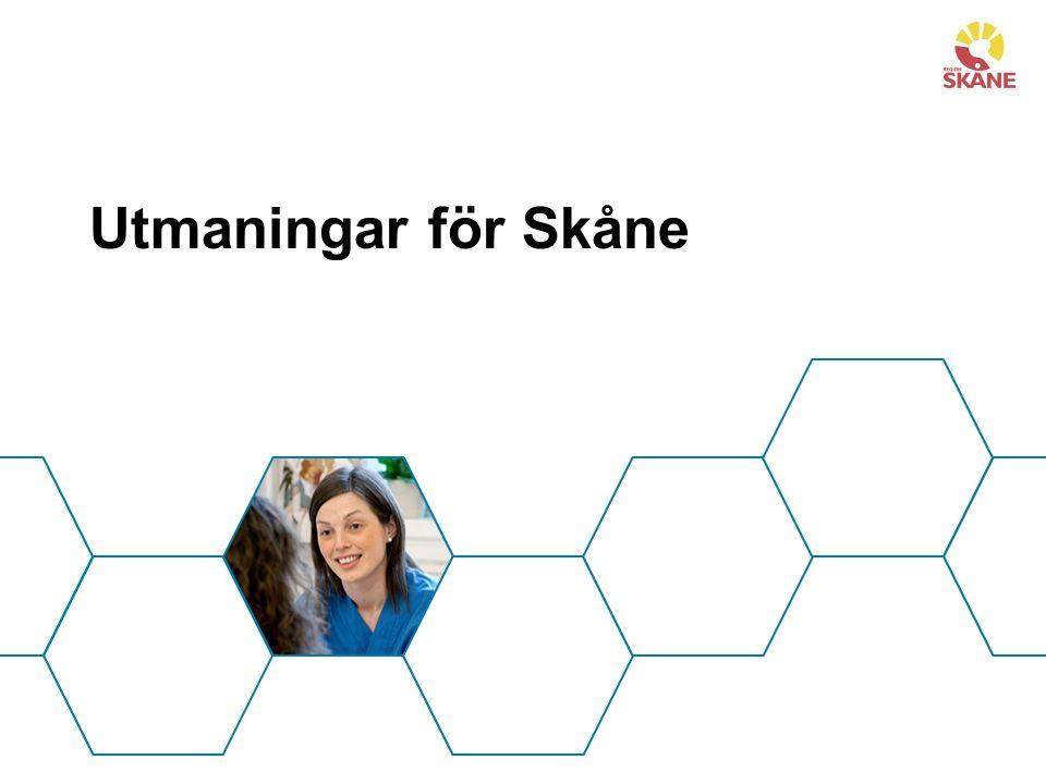 Utmaningar för Skåne