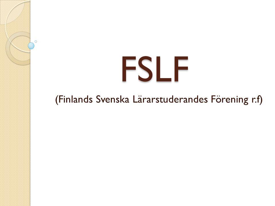 FSLF (Finlands Svenska Lärarstuderandes Förening r.f)