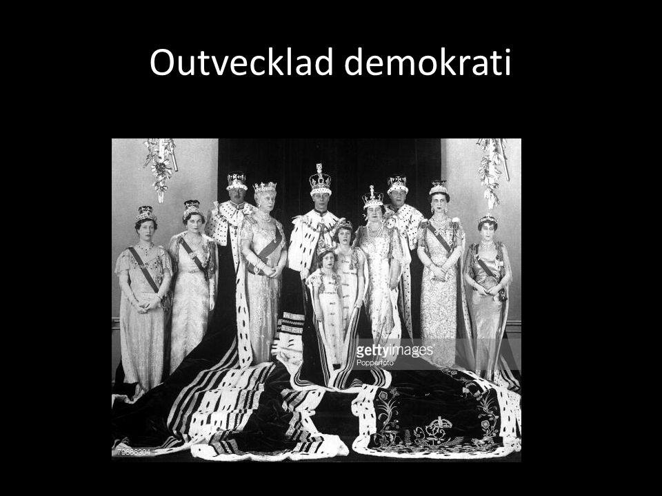 Outvecklad demokrati