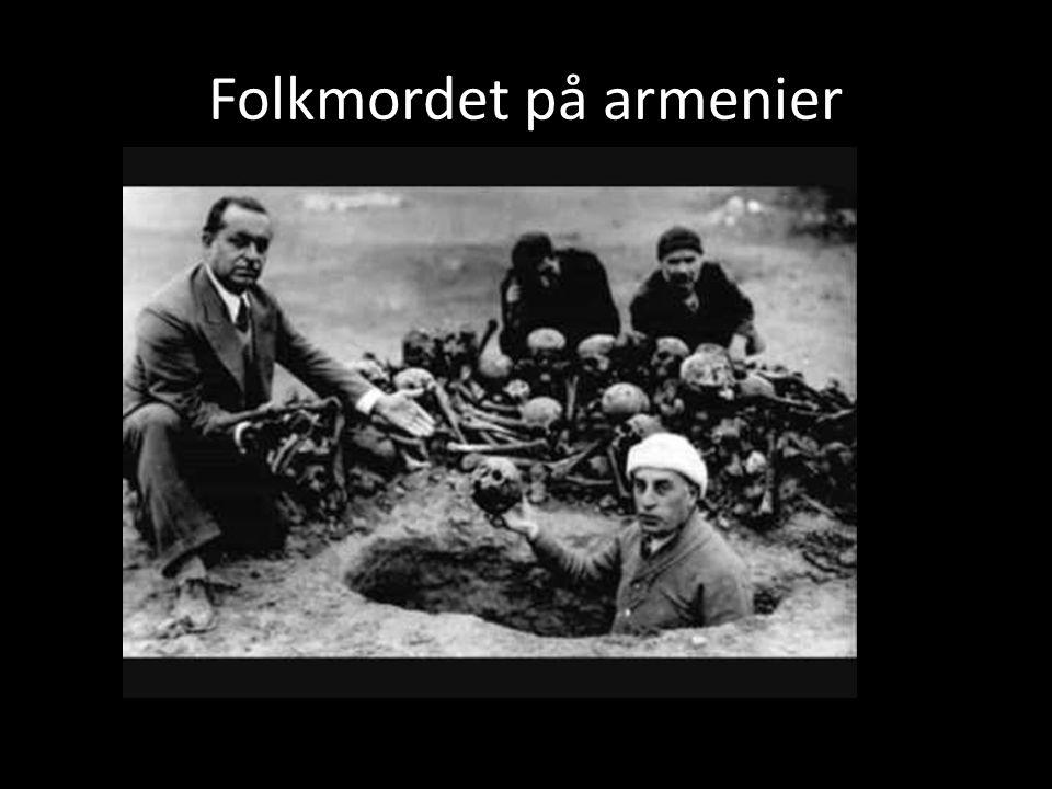 Folkmordet på armenier