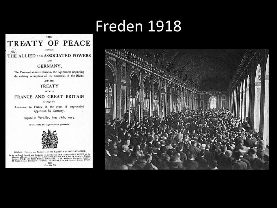 Freden 1918