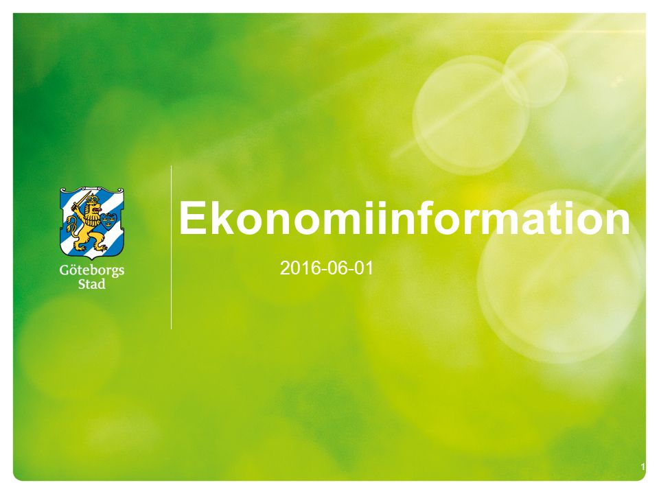 Ekonomiinformation 2016-06-01 1