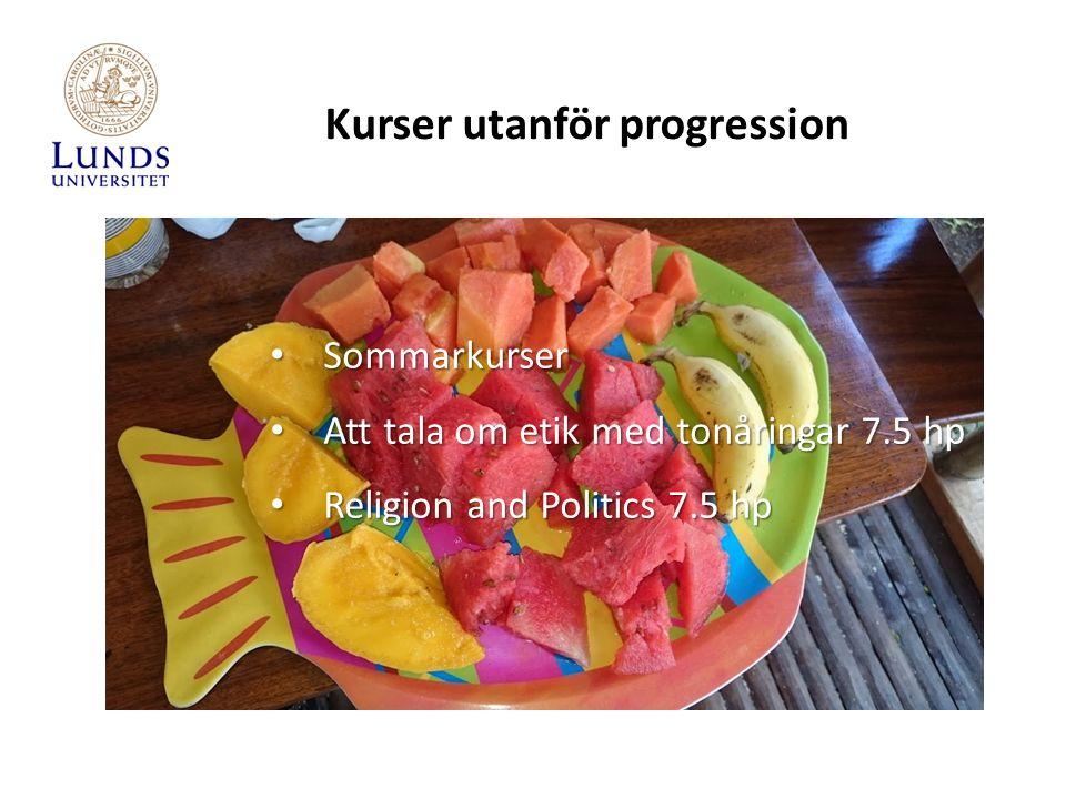 Sommarkurser Sommarkurser Att tala om etik med tonåringar 7.5 hp Att tala om etik med tonåringar 7.5 hp Religion and Politics 7.5 hp Religion and Poli