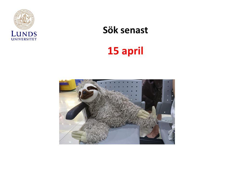 Sök senast 15 april