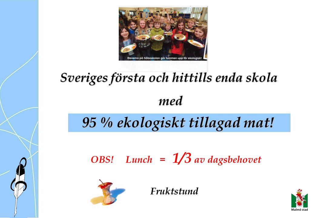 Sveriges första och hittills enda skola med med OBS.