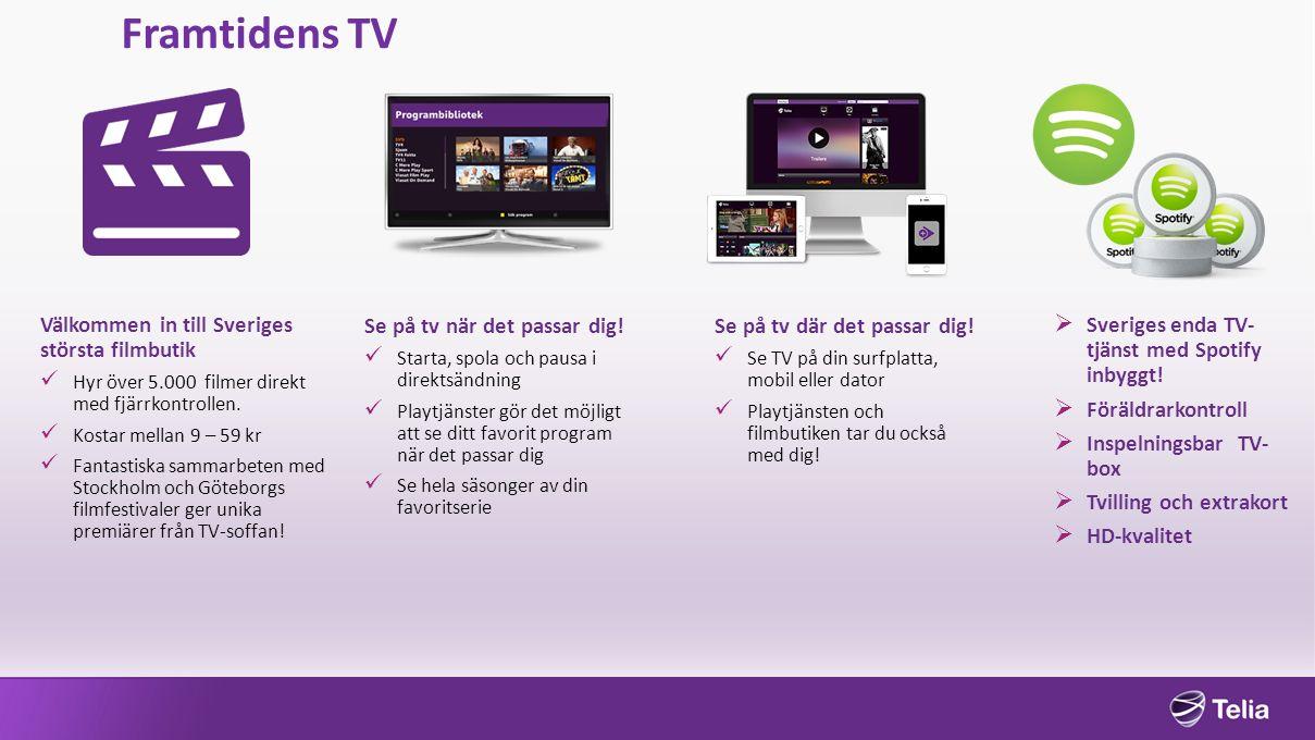 Alla dessa kanaler kan du välja på!!!
