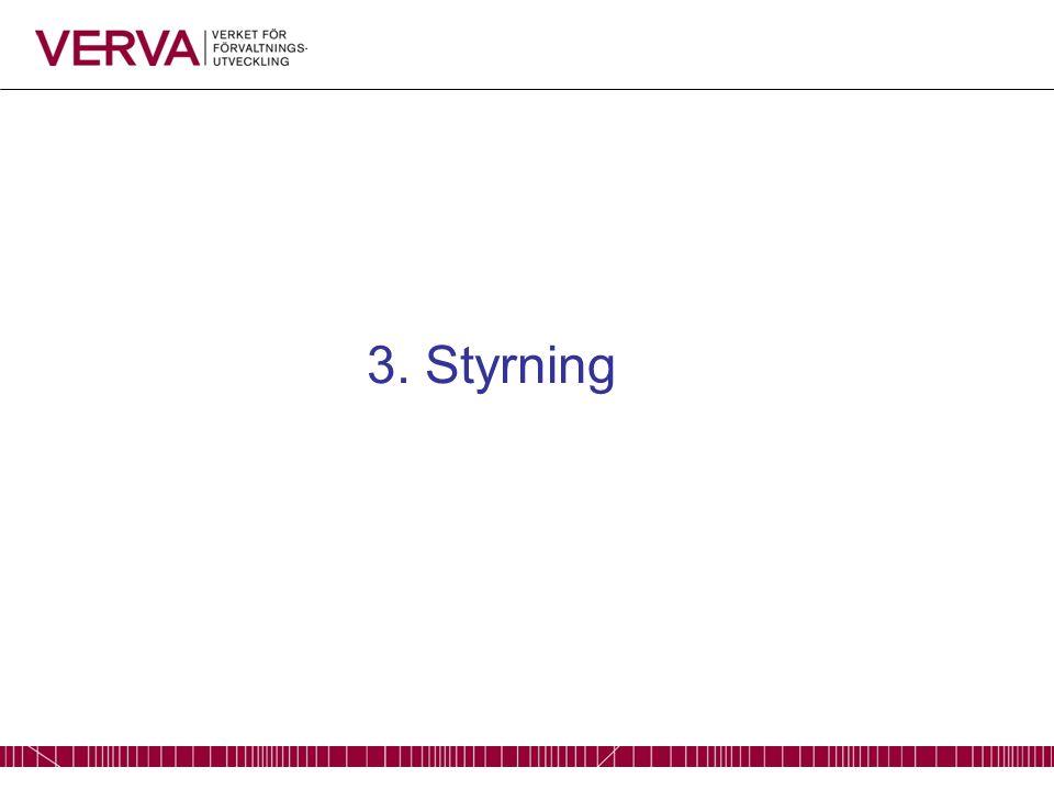 3. Styrning