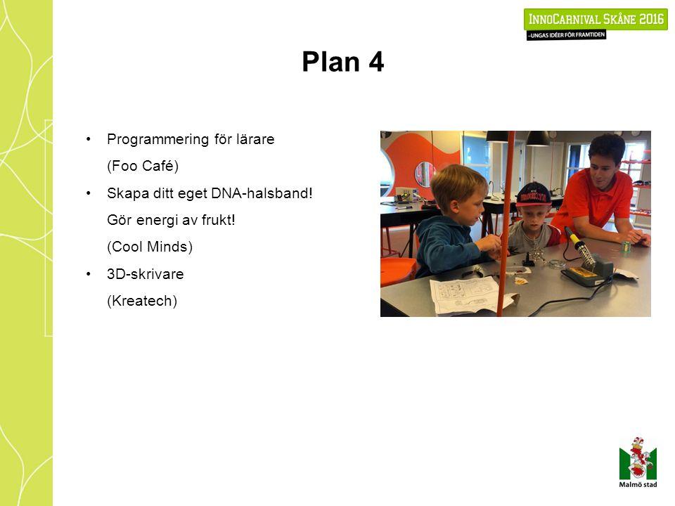 Plan 4 Programmering för lärare (Foo Café) Skapa ditt eget DNA-halsband.