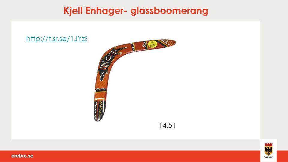 orebro.se Kjell Enhager- glassboomerang http://t.sr.se/1JYzEWk 14.51