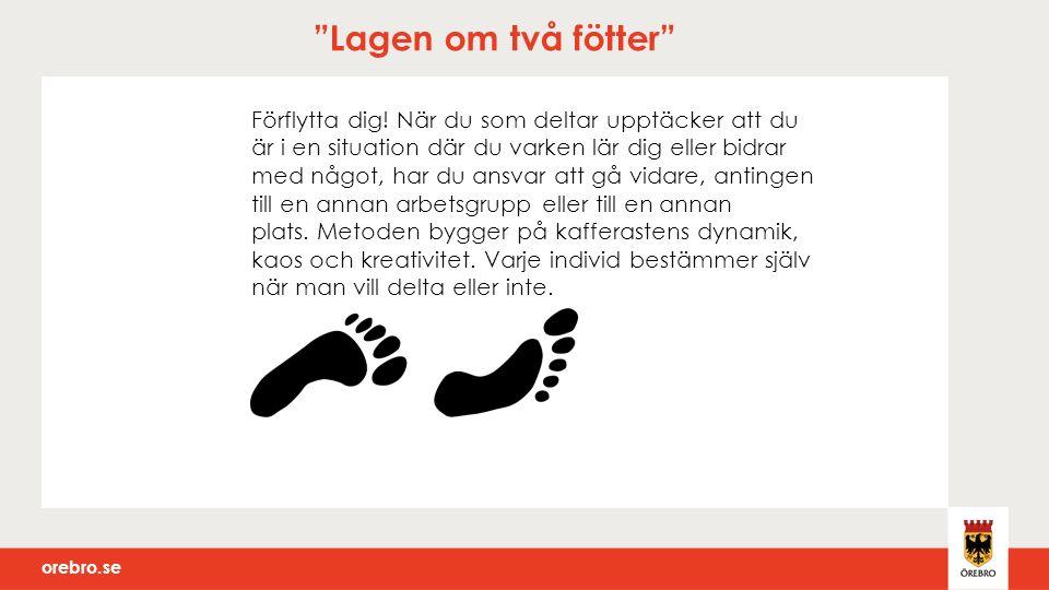 orebro.se Lagen om två fötter Förflytta dig.