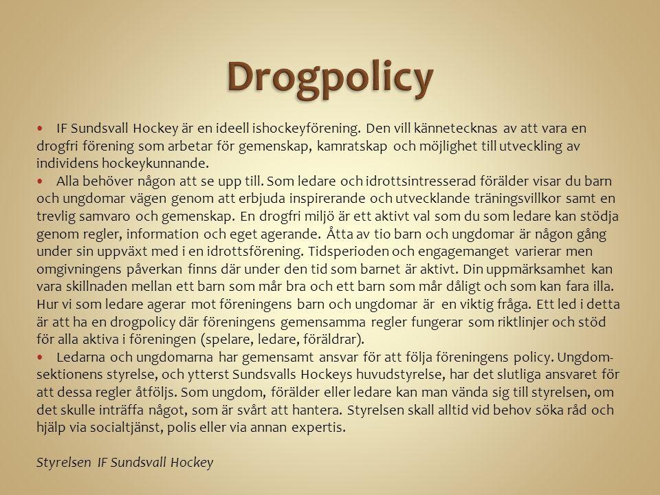 IF Sundsvall Hockey är en ideell ishockeyförening.