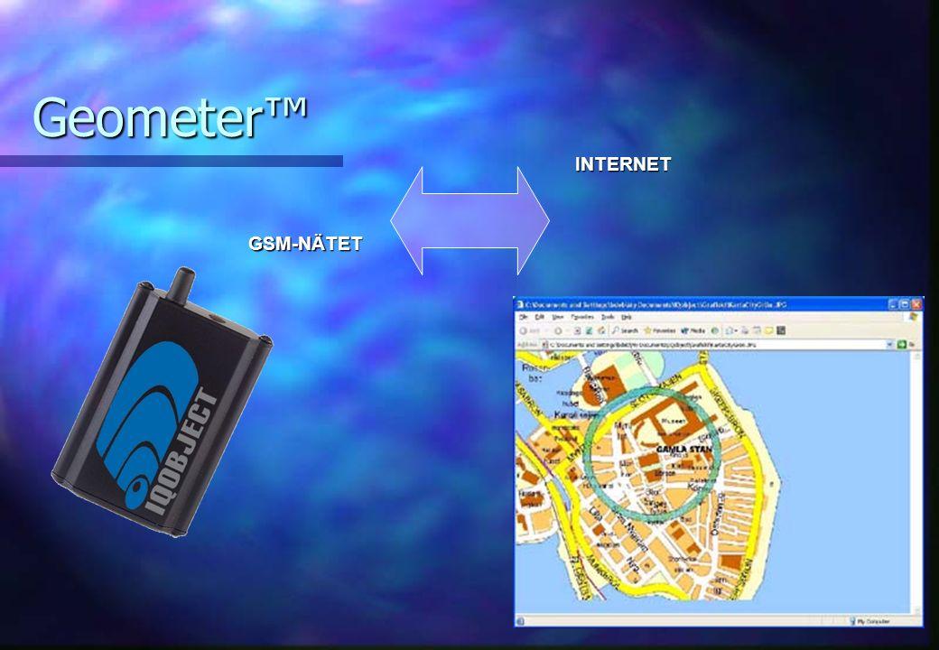Geometer™ GSM-NÄTET INTERNET