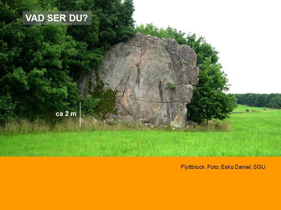 VAD SER DU Flyttblock. Foto: Esko Daniel, SGU