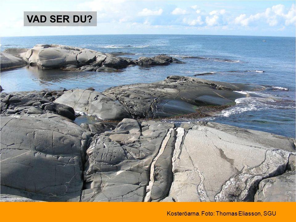VAD SER DU Kosteröarna. Foto: Thomas Eliasson, SGU