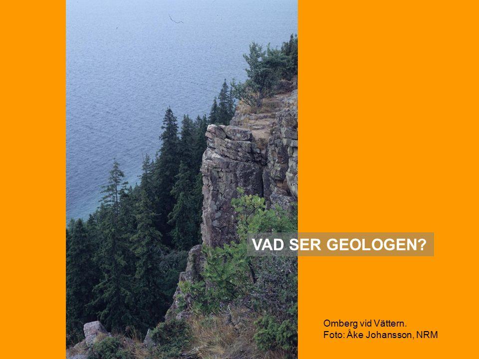Omberg vid Vättern. Foto: Åke Johansson, NRM VAD SER GEOLOGEN