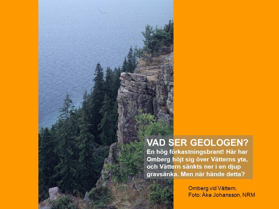 Omberg vid Vättern. Foto: Åke Johansson, NRM VAD SER GEOLOGEN.