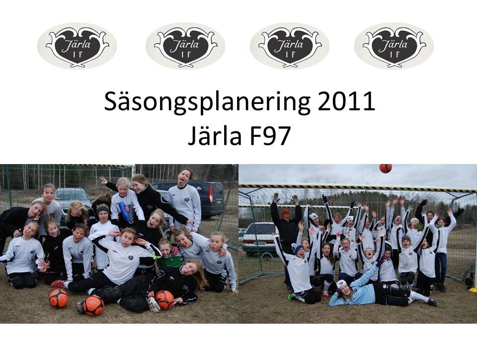 Säsongsplanering 2011 Järla F97