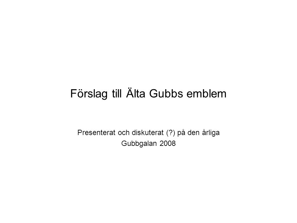 Ä l t a G u b b s Forever Young! - 0 32 0 -