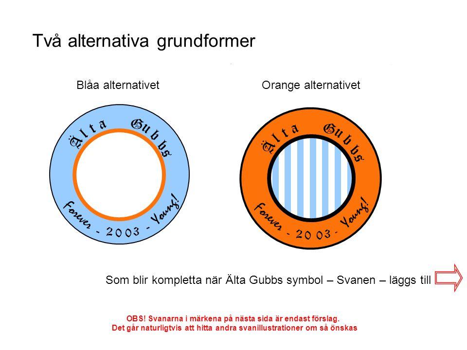 Alternativ: Blå 1 Alternativ: Blå 2 Alternativ: Blå 3 Alternativ: Orange 1 Alternativ: Orange 2 Alternativ: Orange 3 OBS.