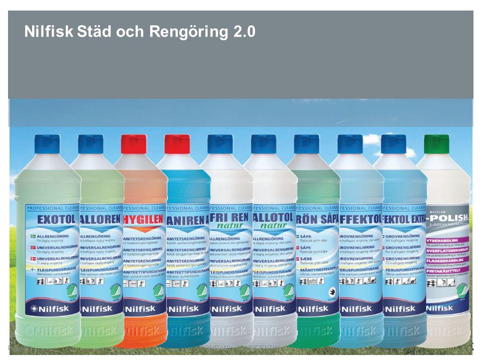 Nilfisk Städ och Rengöring 2.0 COMPANY CONFIDENTIALPage 11