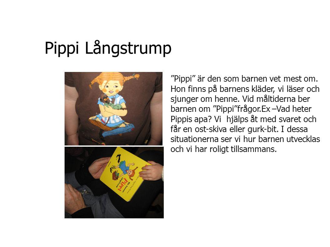 Pippi Långstrump Pippi är den som barnen vet mest om.