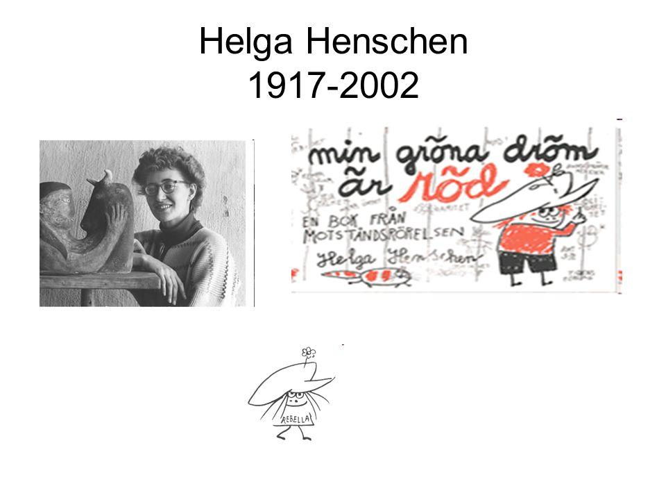 Helga Henschen 1917-2002