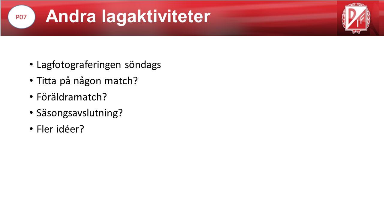 Lagplikter Medlems och deltagaravgift Kiosken (8/6, 11-15) Julmarknad.