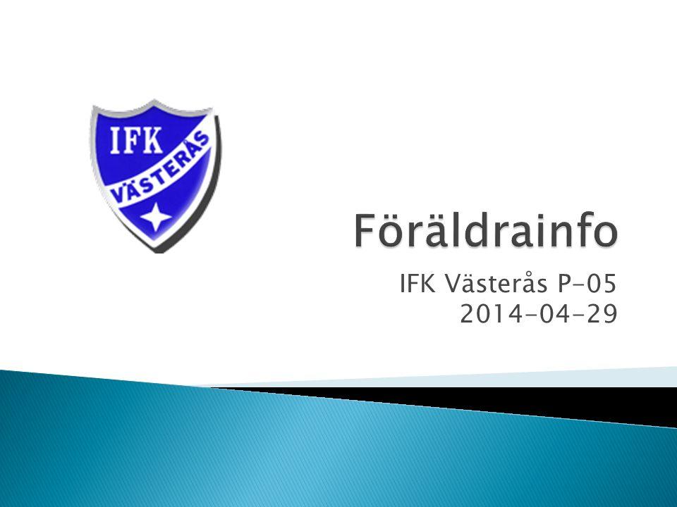Ledare:  IFK Västerås grundades 1898 (Västerås äldsta fotbollsförening)  1904 Spelas den första fotbollsmatchen.