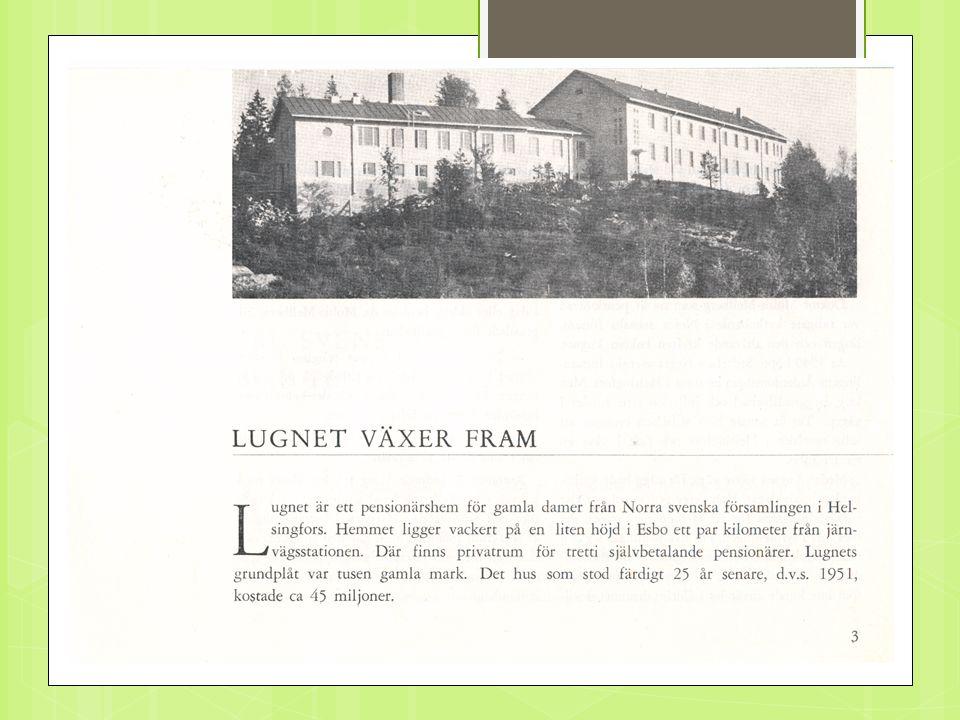 Lugnet i Esbo byggnation 1951.
