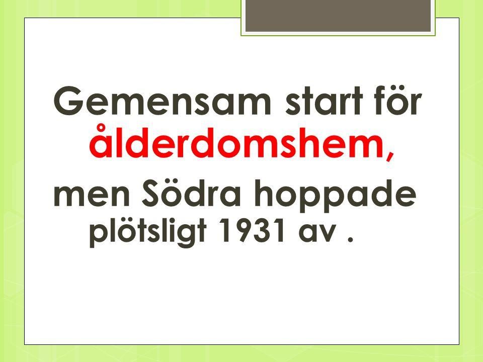 Starten 21 okt. 1926 gemensamt